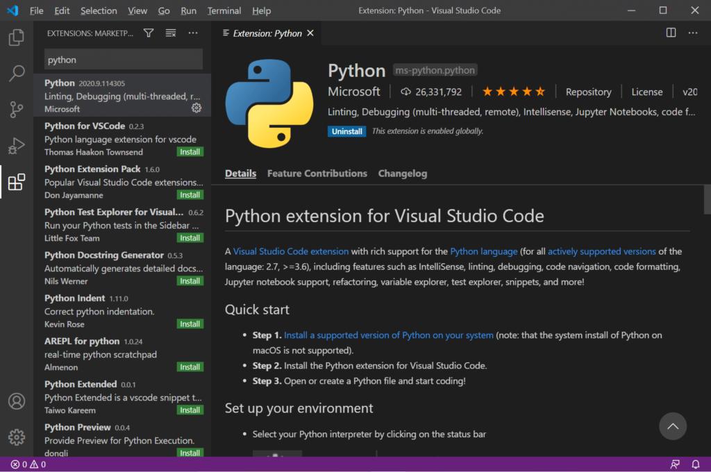 Python Anaconda VSCode28