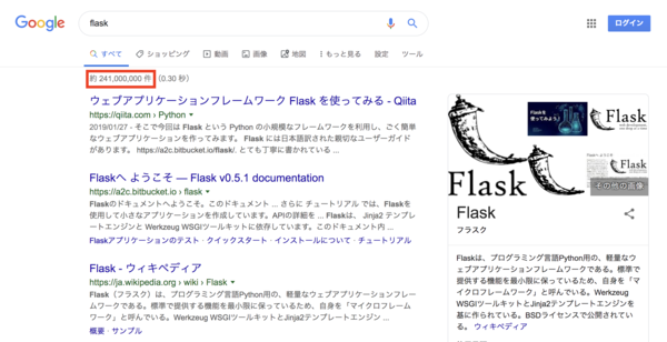 google flask