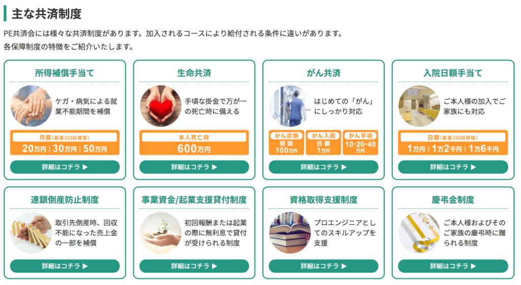 PE-BANK 福利厚生
